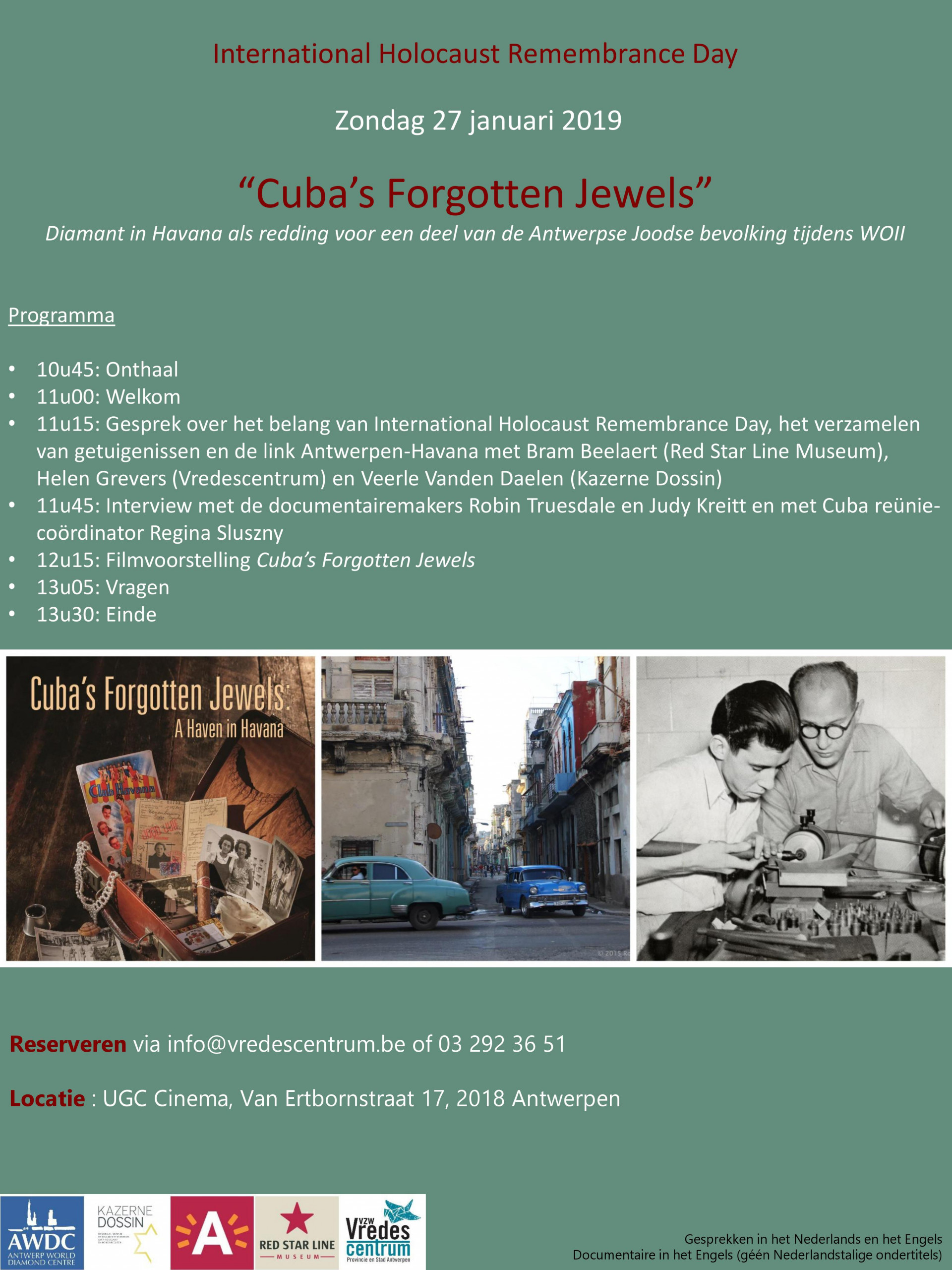Filmvertoning: Cuba's Forgotten Jewels