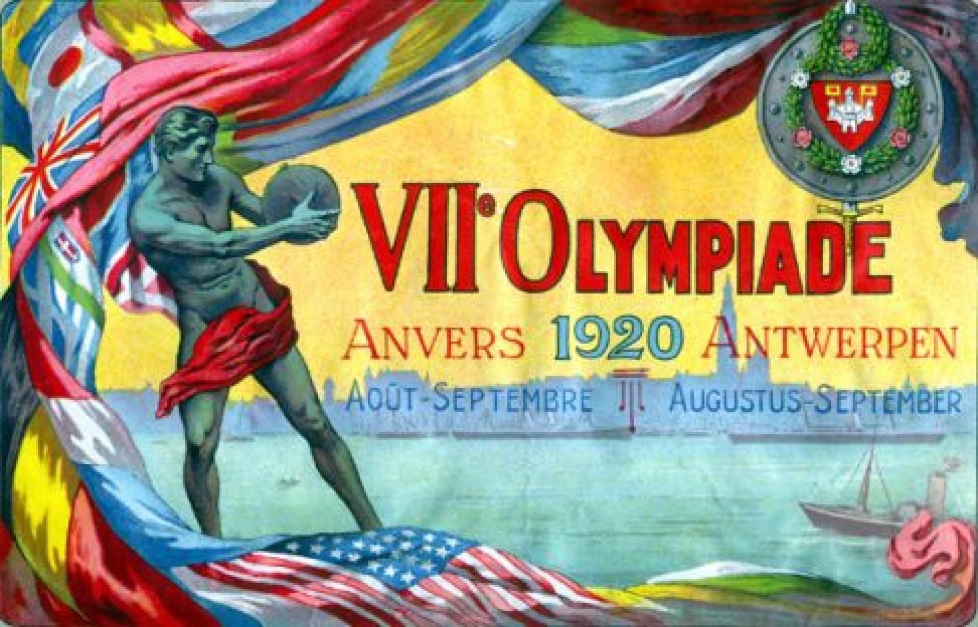 Afbeeldingsresultaat voor conflict 1920 olympische spelen