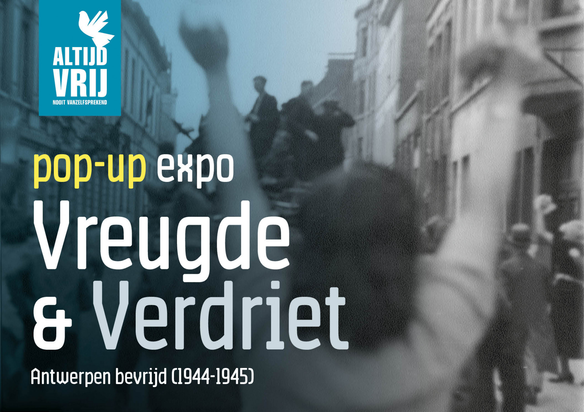 Pop-up expo: Vreugde & Verdriet