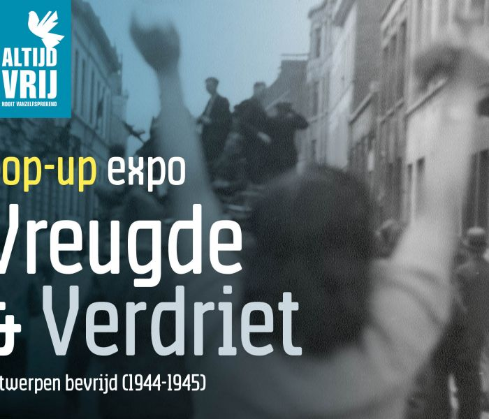 Ekeren: Pop-up expo Vreugde & Verdriet