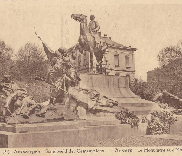WOI lezing: Het Antwerpse oorlogsmonument